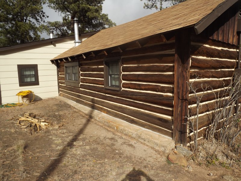 Cabin Restoration High Country Construction Enterprises Inc